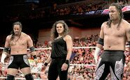 The Usos debuted