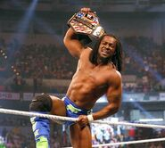Kofi as United States Champion 2013