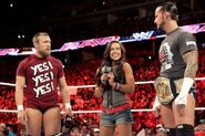 Daniel Bryan AJ Lee and CM Punk