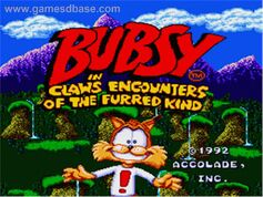 Bubsy in- Claws Encounters of the Furred Kind - 1992 - Accolade