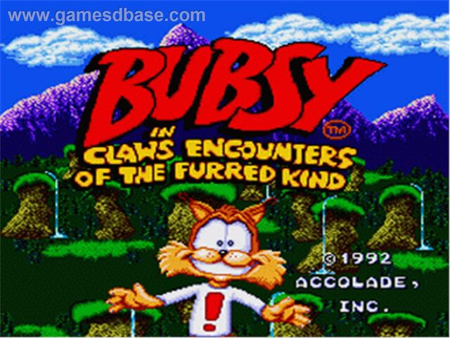 File:Bubsy in- Claws Encounters of the Furred Kind - 1992 - Accolade.jpg