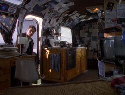 Max Fenig Mobile Home Inside