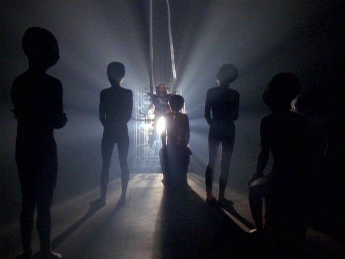 image chrissy giorgio aboard alien spaceshipjpg x