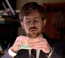 John Fitzgerald Byers defacing money