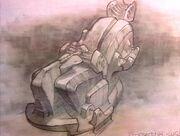 Alien chair sketch