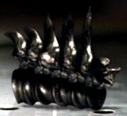 Metallic vertebra