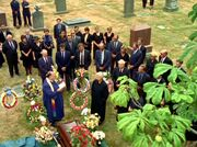 William Mulder's funeral