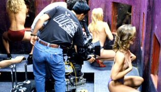 Ruby Tip club is filmed