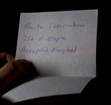Marita Covarrubias address
