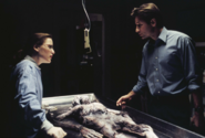 Scully Mulder Ray Soames Autopsy The X-Files Pilot