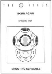 Born Again shooting schedule