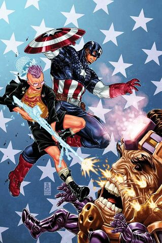 File:Avengers + X-Men Vol 1 4 Brooks Variant Textless.jpg
