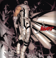 Magneto white suit