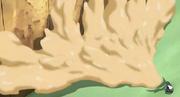 Pared de Goma en el Anime