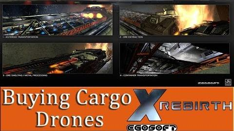 X Rebirth Buying And Installing Cargo Drones