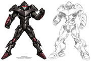 Power Armor for Serious Sports by Mecha Master