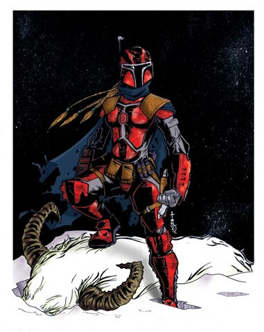 File:Maya, in her hunter suit in the Mandalorian Wars.jpg