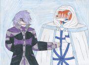 Orochi and Kairo on Lunavex