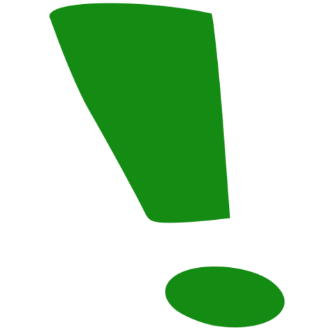 File:Exclamation mark-green.png