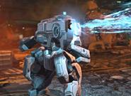 XCOM EW ParticleCannon Firing