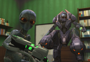 XCOM EW Mechtoid withSectoid