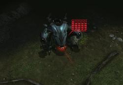 XCOM(EU) Sectopod PreparesClusterBomb