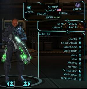 XCOM(EU) Hero SidMeier