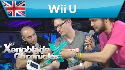 Xenoblade Chronicles X - EGX Demonstration 12 Minute Cut (Wii U)