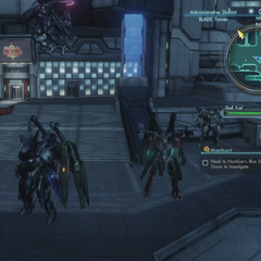The party at BLADE Tower