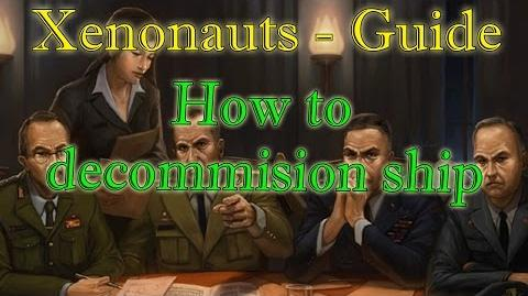 Xenonauts Guide - How to decommission ship