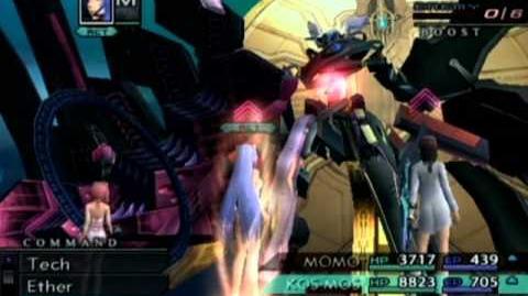 Xenosaga III KOS-MOS Oneshot Final Boss