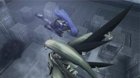 Xenosaga Episode III - Chapter 2 - CAT Testing Ground - KOS-MOS vs