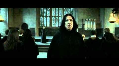 Harry Potter and the Deathly Hallows - Severus Snape vs Minerva Mcgonagall HD