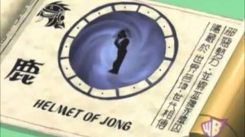 Shen Gong Wu - Helmet of Jong