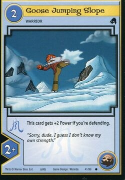 TCG - Goose Jumping Slope