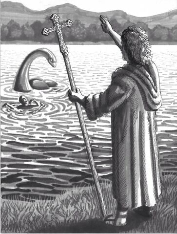 File:Columba confronts the Loch Ness Monster.jpg
