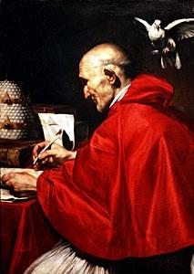 Gregory at his memoirs