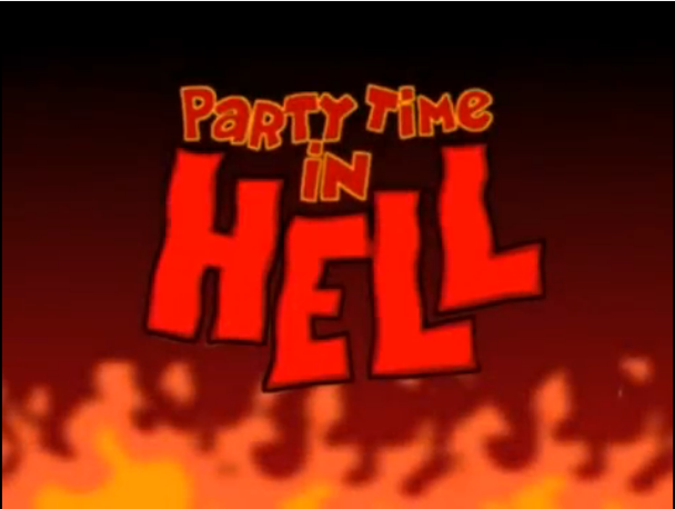 File:Xilam - Space Goofs - Party Time in Hell - Episode Title Card.png