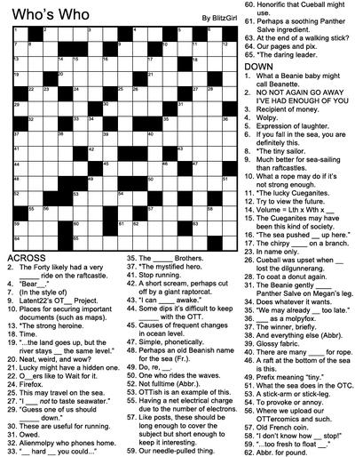CrosswordWhosWho1