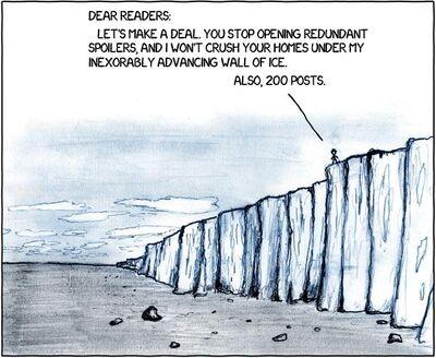 Redundant ice