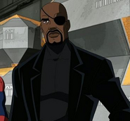 Spiderman- Nick Fury