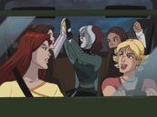 Walk on the Wild Side- Jean, Kitty, Rogue, Amara n Tabitha driving