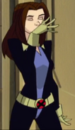 1485206972 tmp Evolution Kitty Pryde With Her Hair Down Yawning