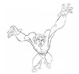 DrawBeast- Jump I