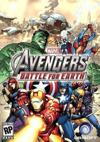 File:Avengers Battle for Earth cover art.jpg