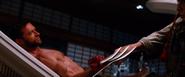 Logan blocks Shingen's Death Strike