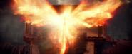 Jean unleashes Phoenix Force (1983 - Apocalypse)