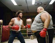 Blob vs Wolverine