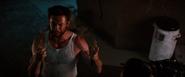 Logan regrowing his bone claws