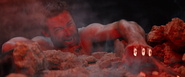 Logan loses both Adamantium Claws